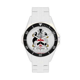 Escudo de la familia de O'Lehane Relojes De Mano