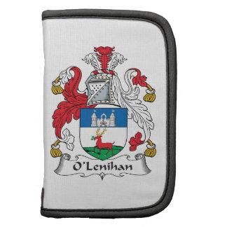 Escudo de la familia de O'Lenihan Planificador