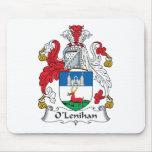 Escudo de la familia de O'Lenihan Tapete De Ratón