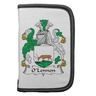 Escudo de la familia de O'Lennon Organizadores
