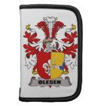 Escudo de la familia de Olesen Planificador