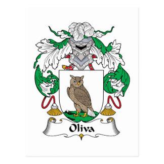 Escudo de la familia de Oliva Postal