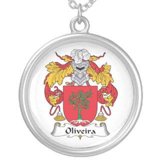 Escudo de la familia de Oliveira Colgante