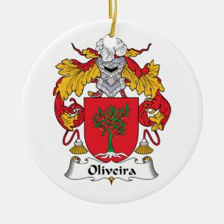 Escudo de la familia de Oliveira Ornamente De Reyes