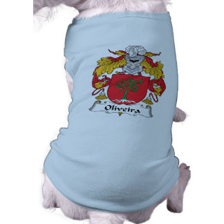 Escudo de la familia de Oliveira Camisas De Perritos