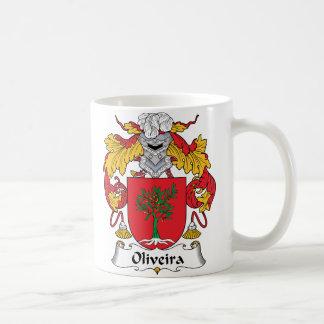 Escudo de la familia de Oliveira Taza