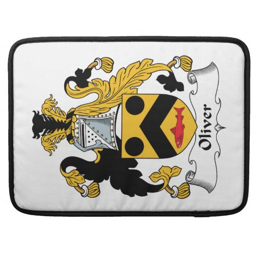 Escudo de la familia de Oliverio Funda Macbook Pro