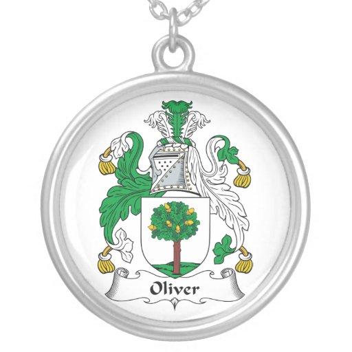 Escudo de la familia de Oliverio Pendiente