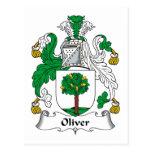 Escudo de la familia de Oliverio Postal