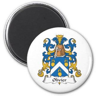 Escudo de la familia de Olivier Imán Redondo 5 Cm