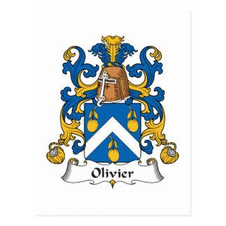 Escudo de la familia de Olivier Postal