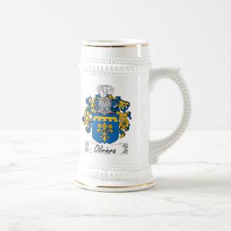 Escudo de la familia de Oliviera Taza De Café