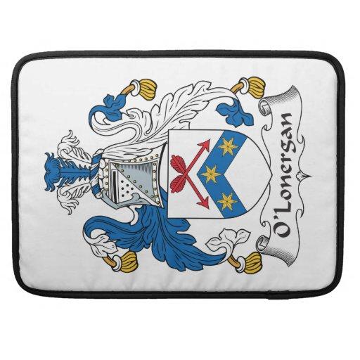 Escudo de la familia de O'Lonergan Funda Macbook Pro