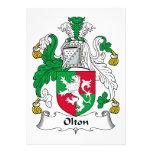 Escudo de la familia de Olton Anuncio