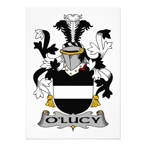 Escudo de la familia de O'Lucy Anuncio Personalizado