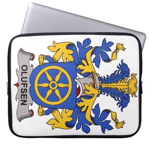 Escudo de la familia de Olufsen Fundas Portátiles