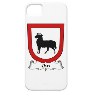 Escudo de la familia de OM iPhone 5 Carcasa