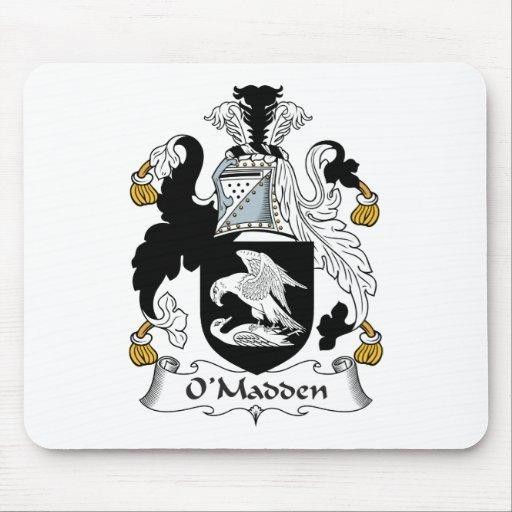Escudo de la familia de O'Madden Tapetes De Ratones