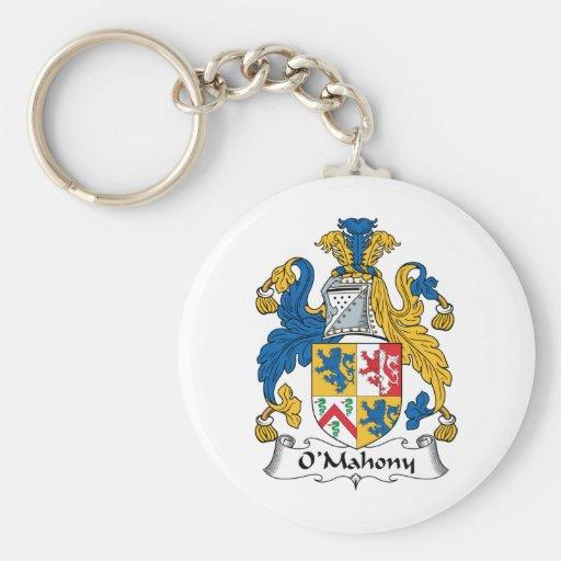 Escudo de la familia de O'Mahony Llaveros Personalizados