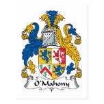 Escudo de la familia de O'Mahony Postal