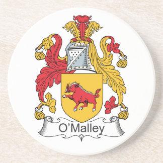 Escudo de la familia de O'Malley Posavasos Manualidades