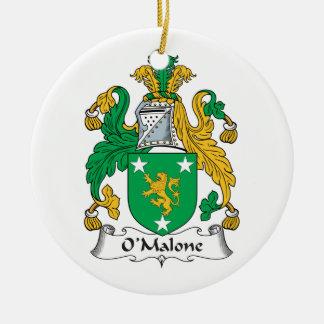 Escudo de la familia de O'Malone Adornos