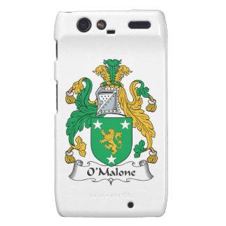 Escudo de la familia de O'Malone Motorola Droid RAZR Carcasas