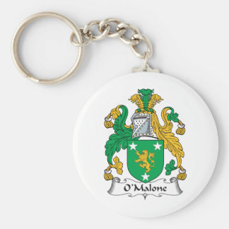 Escudo de la familia de O'Malone Llaveros