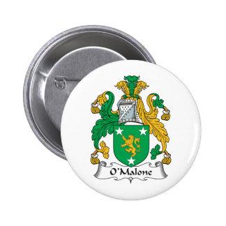 Escudo de la familia de O'Malone Pin