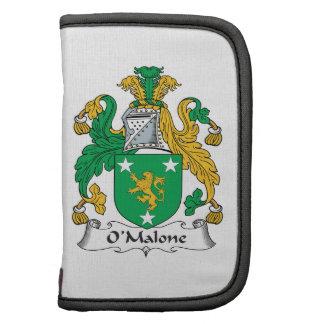 Escudo de la familia de O'Malone Planificador