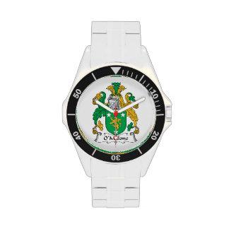 Escudo de la familia de O'Malone Relojes De Mano