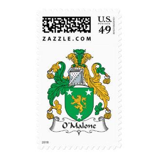 Escudo de la familia de O'Malone Sello