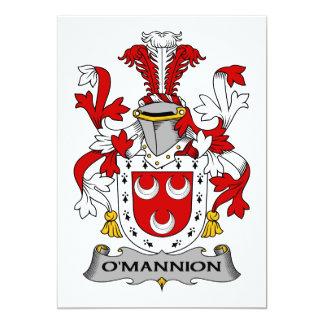 Escudo de la familia de O'Mannion Comunicado