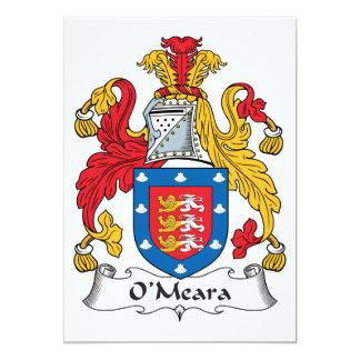 Escudo de la familia de O'Meara Comunicados Personales