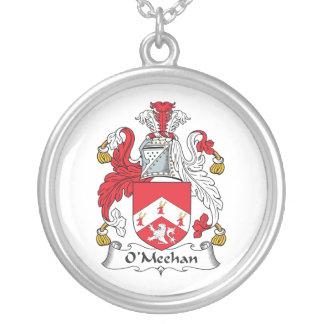 Escudo de la familia de O'Meehan Colgante Redondo