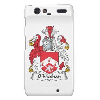 Escudo de la familia de O'Meehan Motorola Droid RAZR Fundas