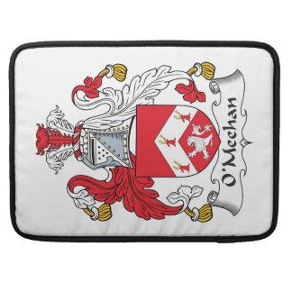 Escudo de la familia de O'Meehan Fundas Para Macbooks
