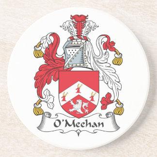 Escudo de la familia de O'Meehan Posavasos Manualidades