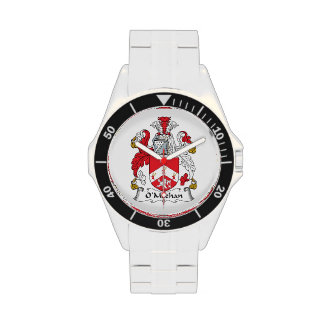 Escudo de la familia de O'Meehan Relojes De Pulsera