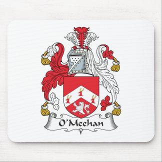 Escudo de la familia de O'Meehan Alfombrillas De Raton
