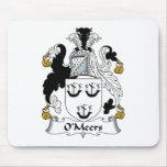 Escudo de la familia de O'Meers Alfombrillas De Ratón