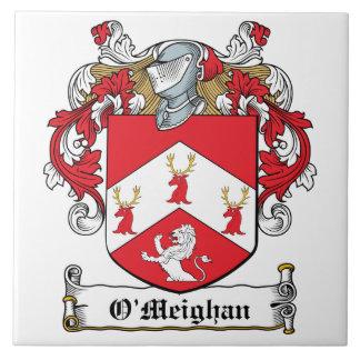 Escudo de la familia de O'Meighan Tejas Cerámicas