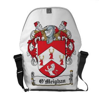 Escudo de la familia de O'Meighan Bolsa De Mensajería