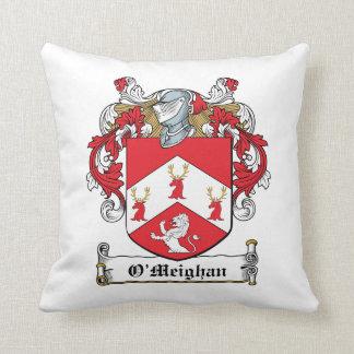 Escudo de la familia de O'Meighan Cojin