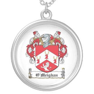 Escudo de la familia de O'Meighan Pendientes
