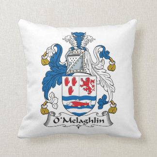 Escudo de la familia de O'Melaghlin Cojines
