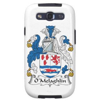 Escudo de la familia de O'Melaghlin Galaxy SIII Funda