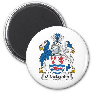 Escudo de la familia de O'Melaghlin Imanes De Nevera