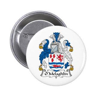 Escudo de la familia de O'Melaghlin Pins