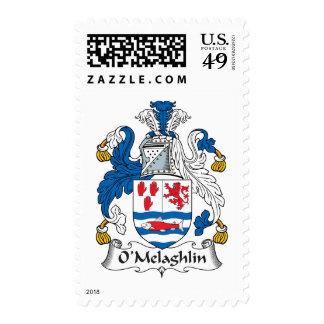 Escudo de la familia de O'Melaghlin Sellos